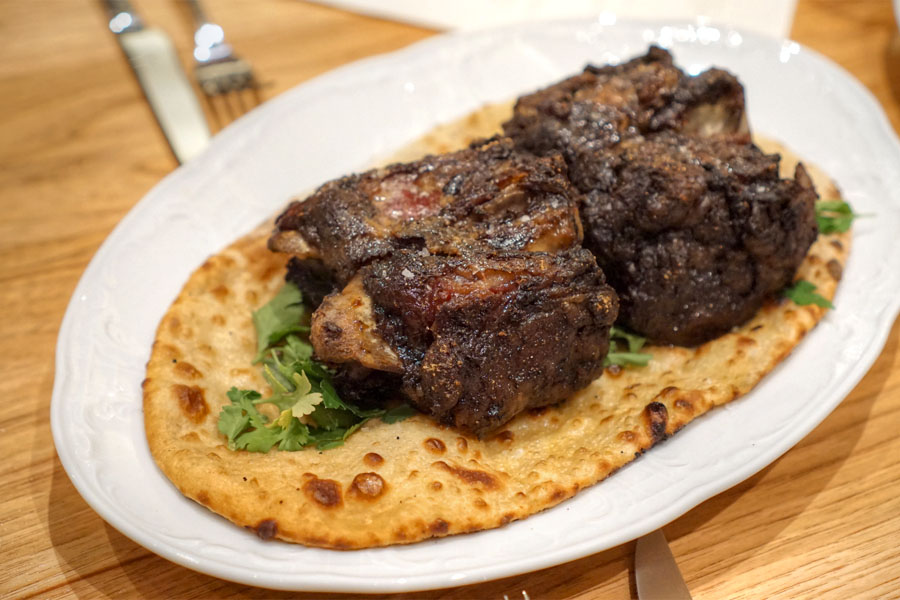 Slow Roasted Lamb Neck Shawarma