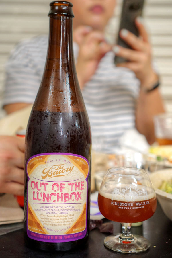 2018 The Bruery Out of the Lunchbox