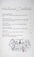 Jaffa Featured Cocktails List