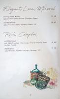 Jaffa Wine List: Elegant, Lean, Mineral / Rich, Complex