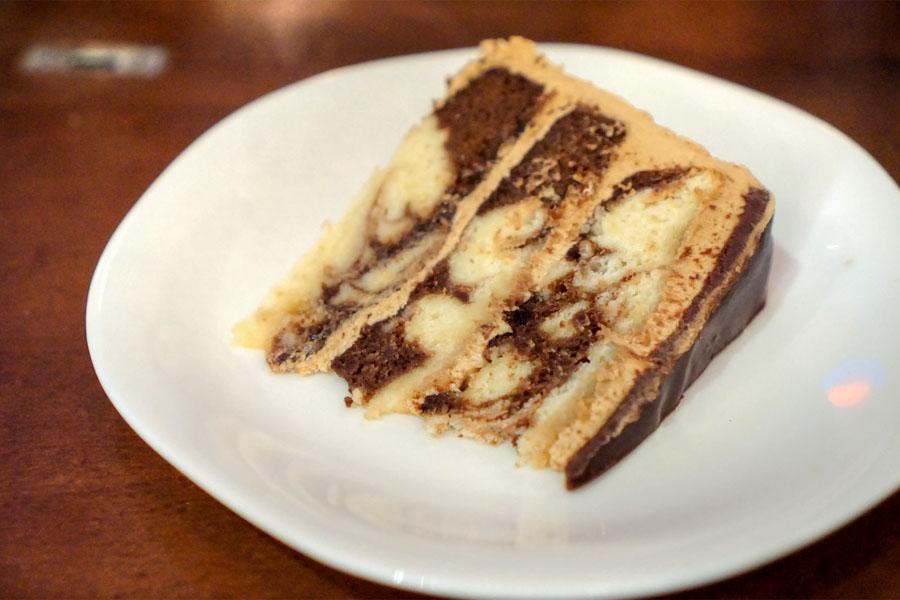 White Russian Cake (Sliced)