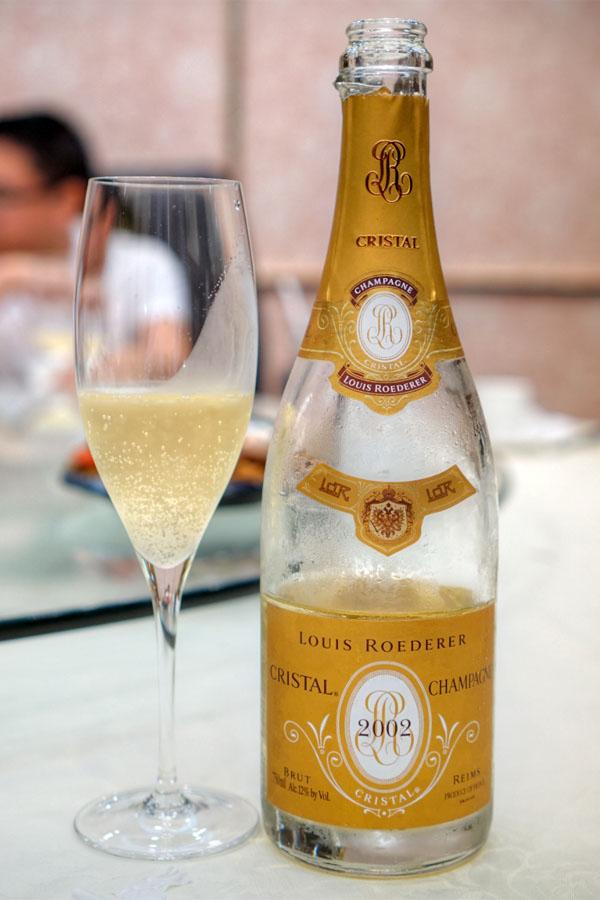 2002 Louis Roederer Champagne Cristal Brut