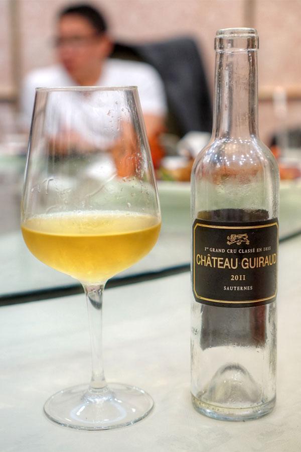 2011 Château Guiraud Sauternes