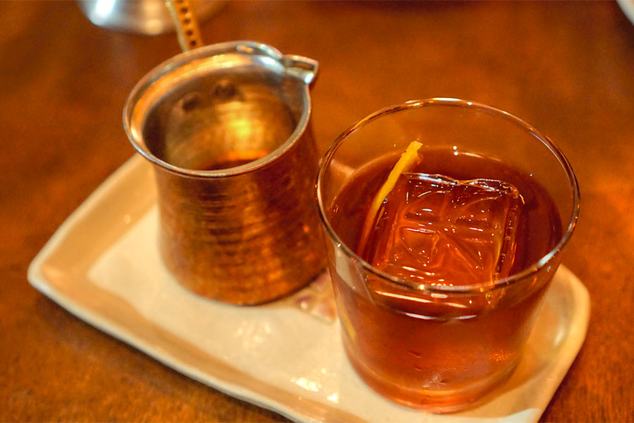 North African Old Fashioned