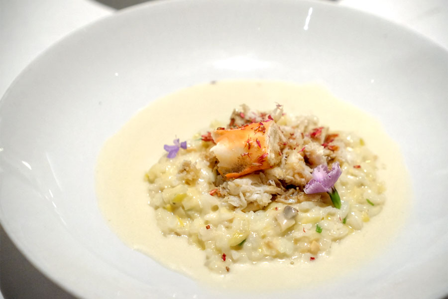 Petit Risotto Of Exceptional Crab - Stone Crab & Alaskan King