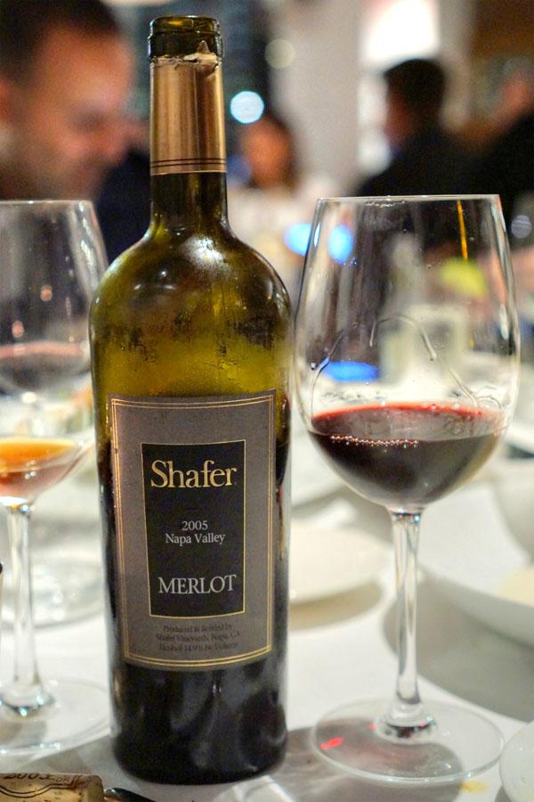 2005 Shafer Merlot