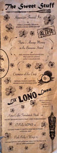 Lono Dessert Menu & Large Format Plates
