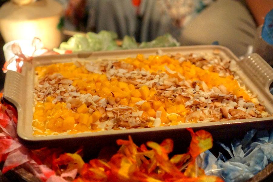 Mango-Coconut Tres Leches Cake