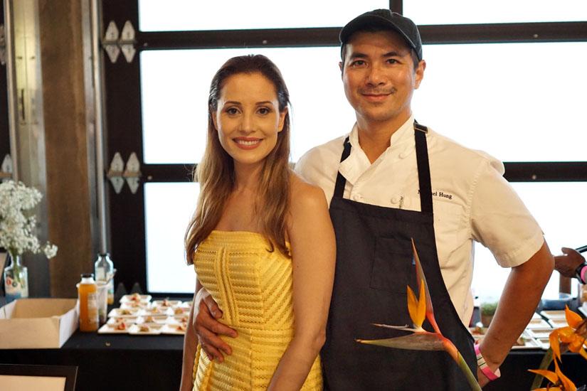Abby Gavino, Michael Hung