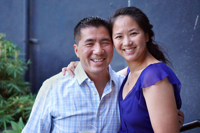 Jennifer Quan and Husband