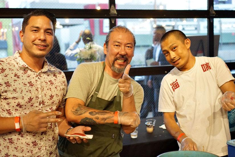 Jesse Duron, Yoya Takahasi and Umi by Hamasaku Team