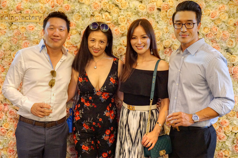 Paul Lee, Amy Ling, Lynn Liou, Hoyt Yang