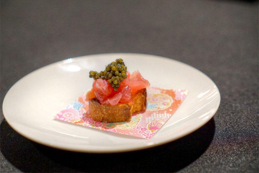 Imperial Kaluga Caviar (Smoked Tomato, Tuna)