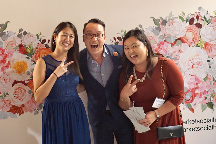 Michelle Li, John Wirfs, Tuyet Nguyen