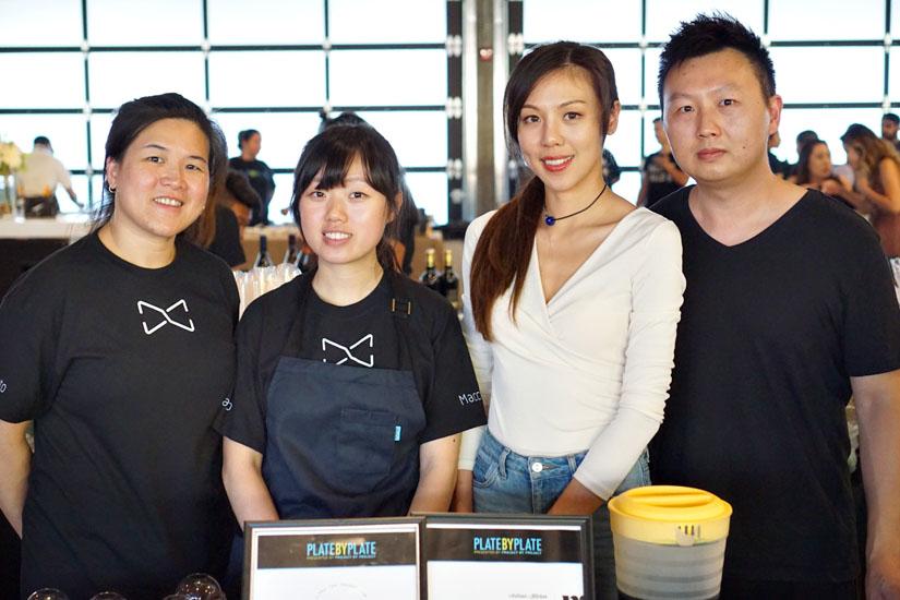 Emily Lien, Avis Tao, Jason Tsai and Macchiato Team