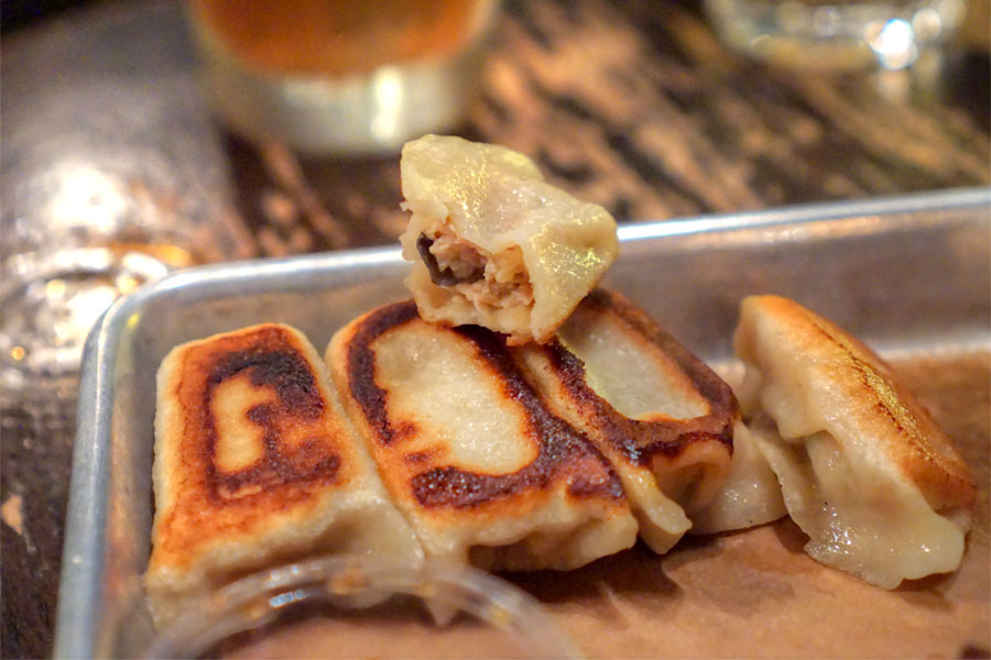 Chicken & Mushroom Potstickers