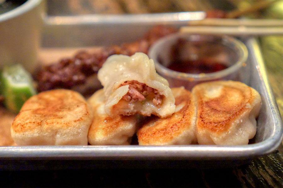Beef & Celery Potstickers