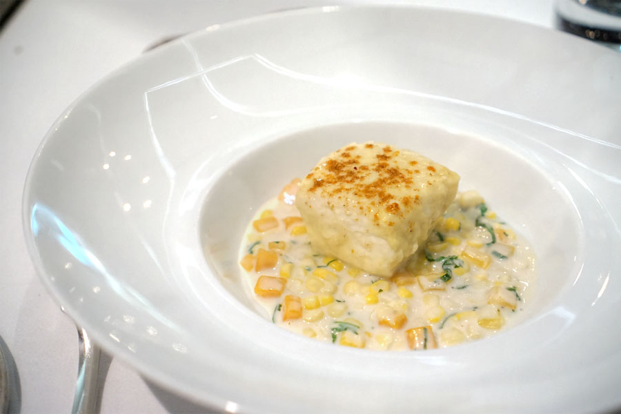 Madras Curry Poached Atlantic Halibut