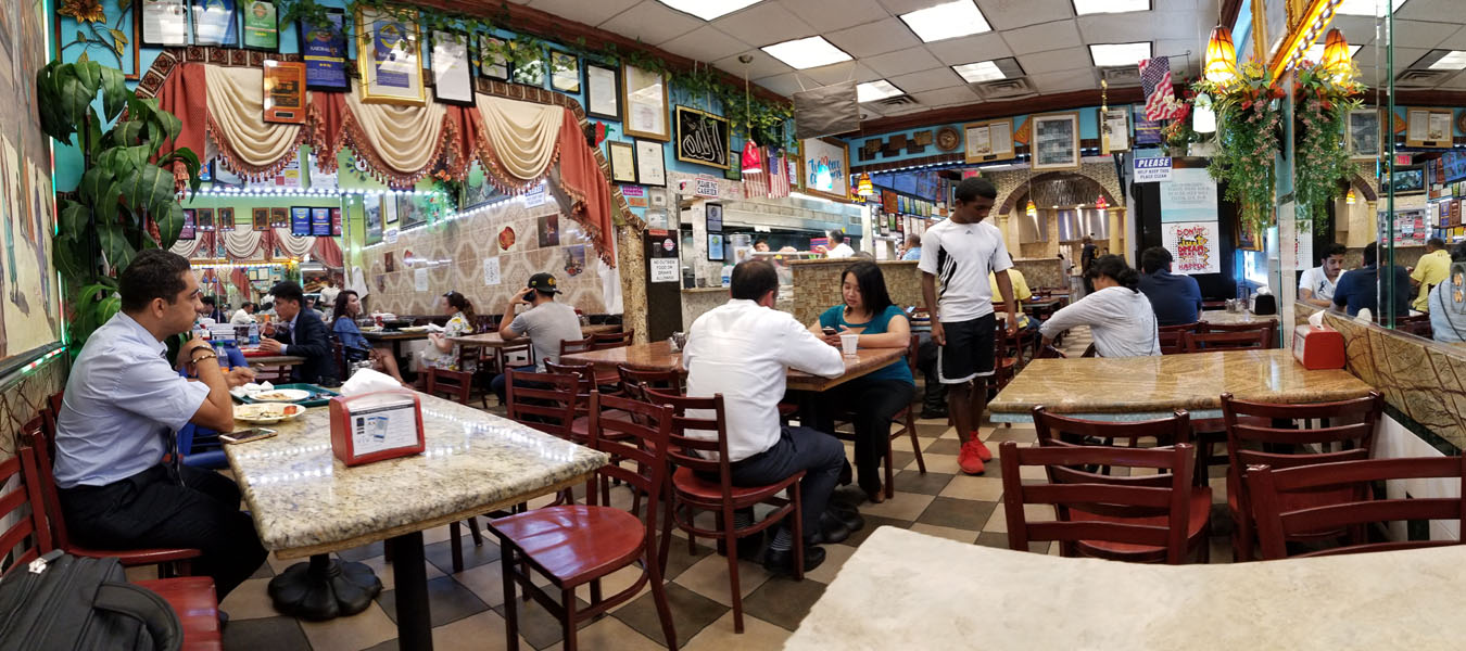 Kabob Palace Interior