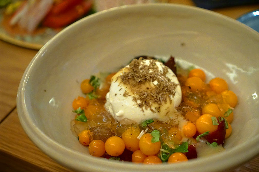 Tomato & Truffled Burrata