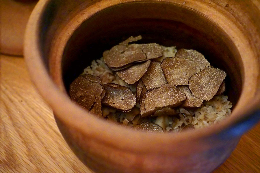 Truffle Rice Pot