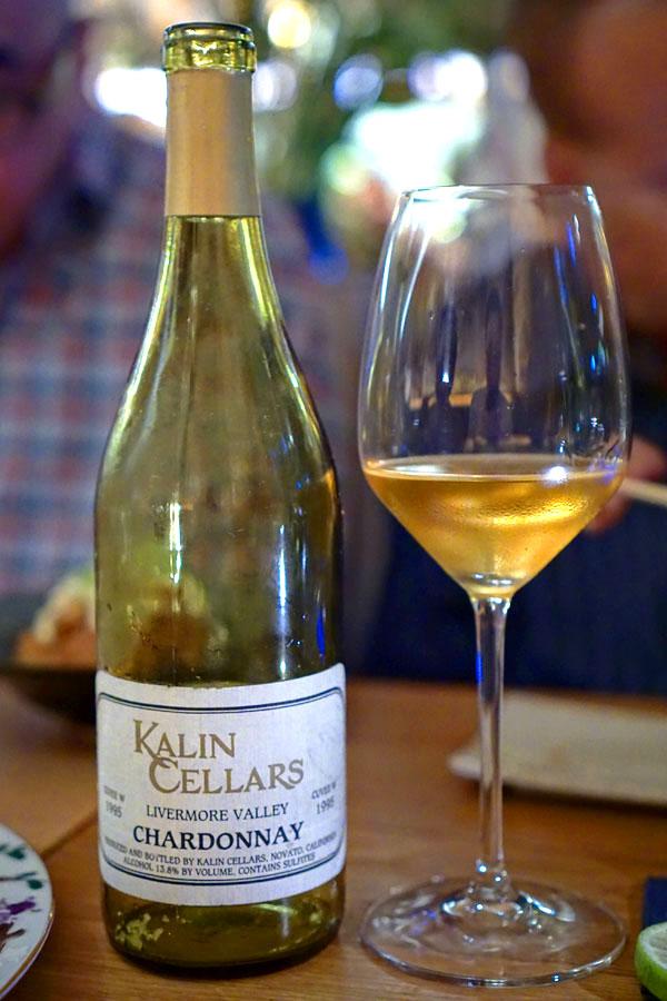 1995 Kalin Cellars Chardonnay Cuvée W