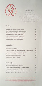 The Hearth & Hound Menu