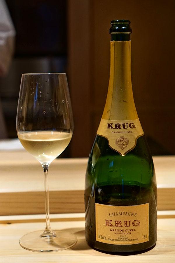 NV Krug Champagne Brut Grande Cuvée 165eme Edition