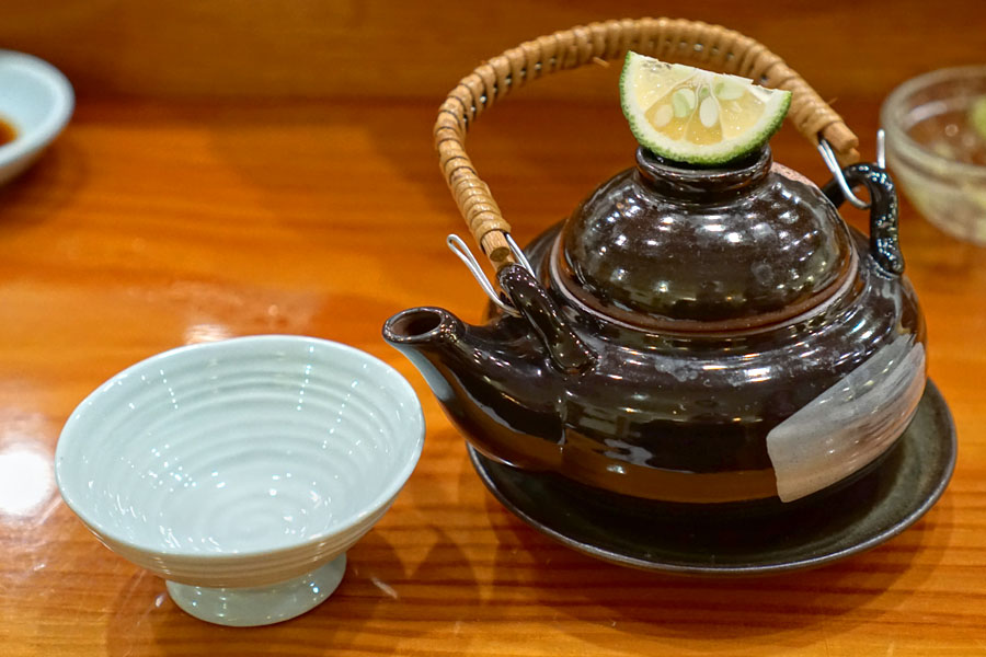 Matsutake Dobinmushi (Lidded)
