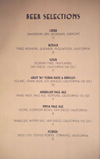 Simone Beer List