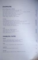 Simone Wine List: Champagne, Sparkling Wine