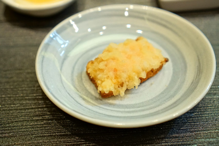 Shrimp Toast Tempura