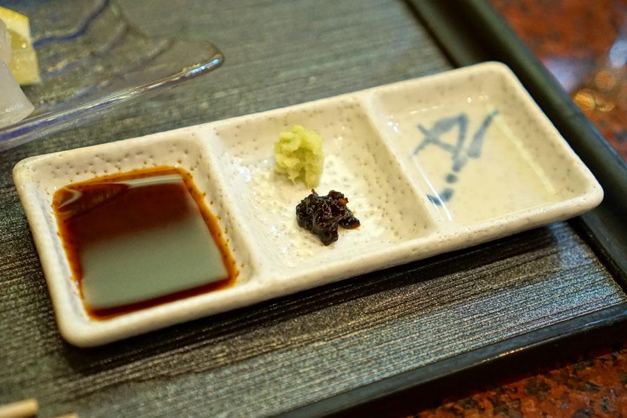 Sashimi Accompaniments