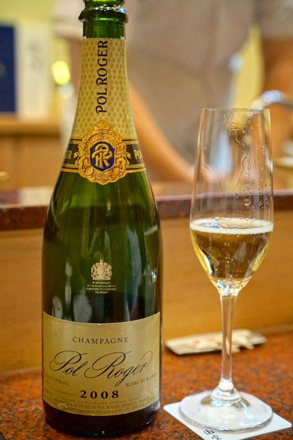 2008 Pol Roger Champagne Blanc de Blancs