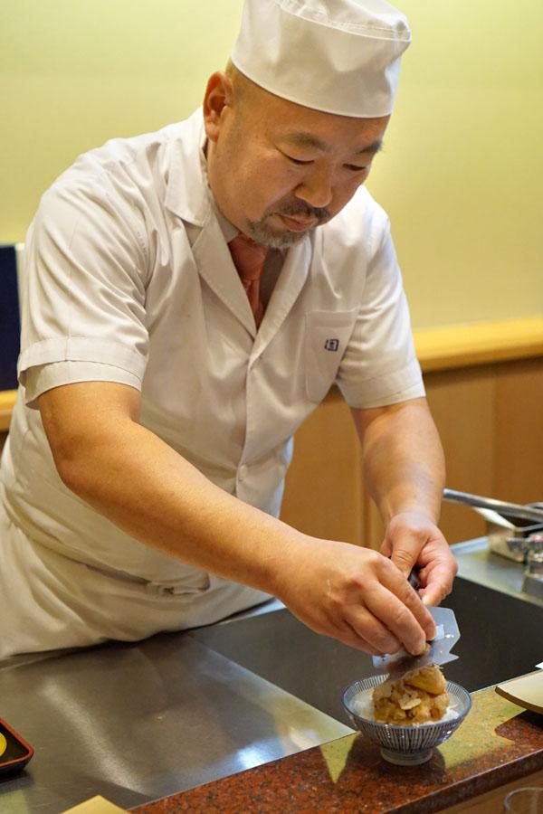 Satoshi Masuda Shaving Truffle
