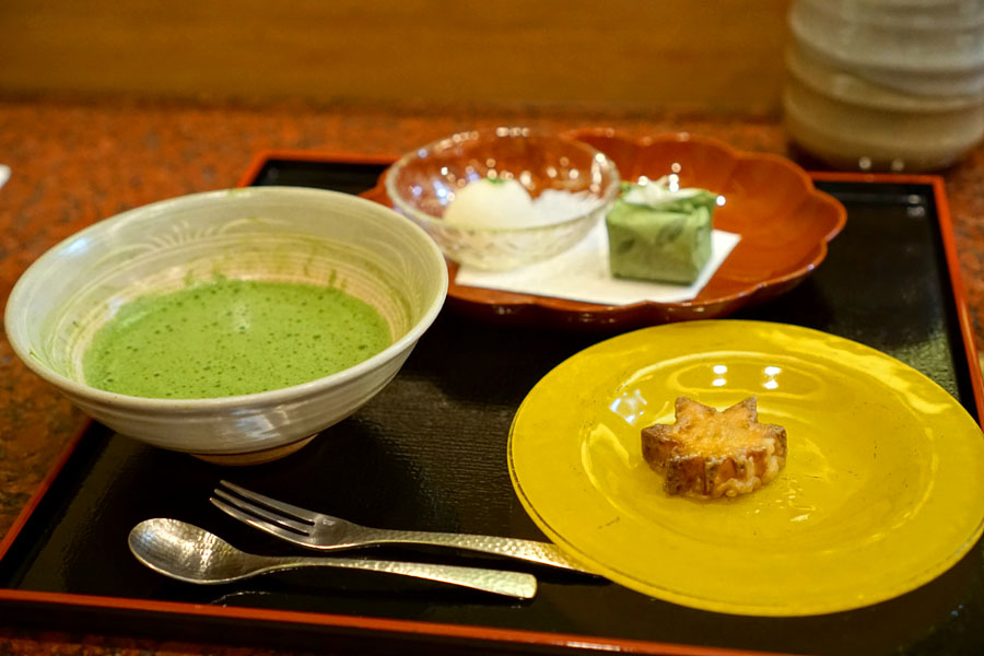Tempura Endo Dessert
