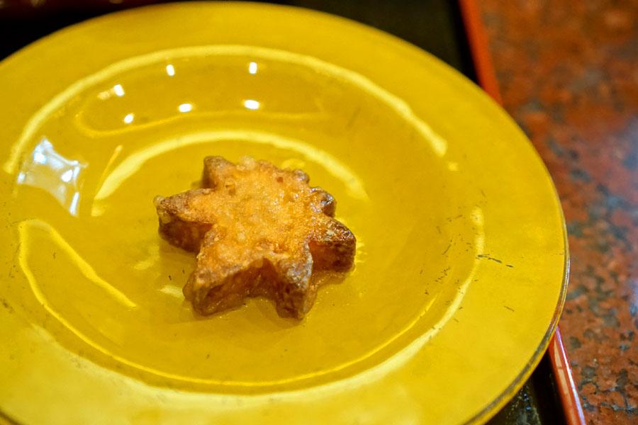 Flambéed Candied Sweet Potato