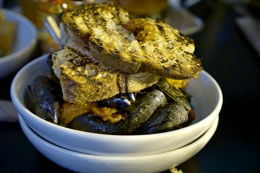 Chorizo & Mussels