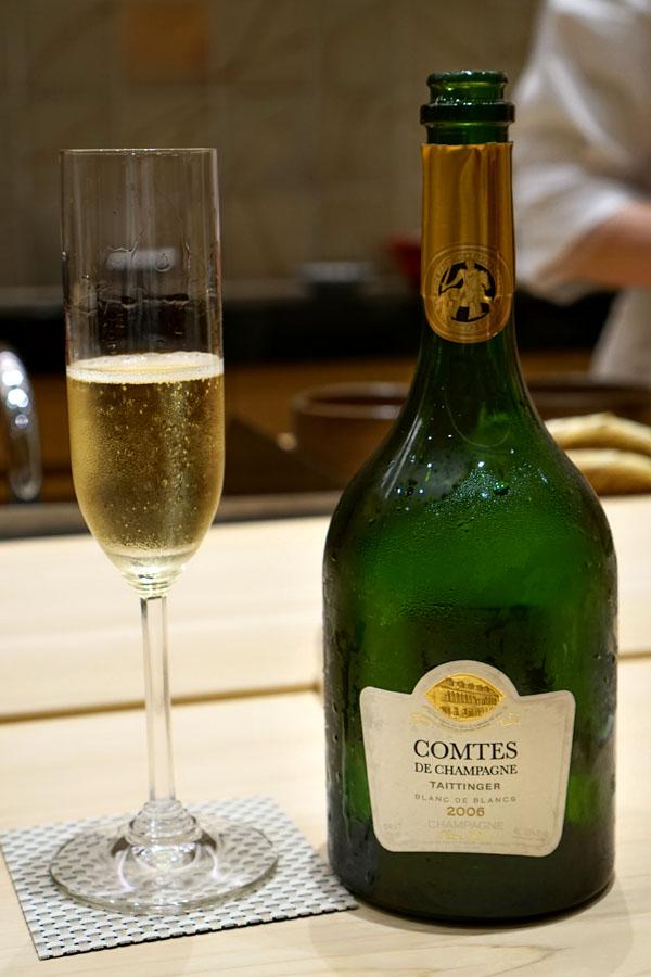 2006 Taittinger Champagne Brut Blanc de Blancs Comtes de Champagne