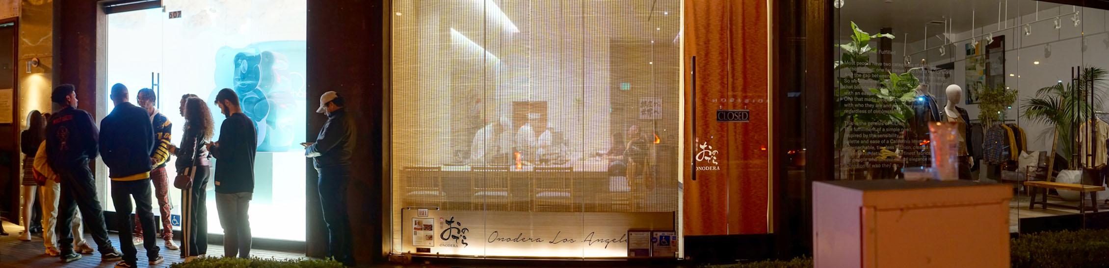 Sushi Ginza Onodera Exterior
