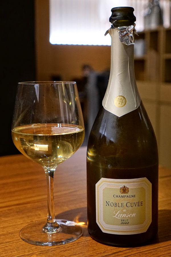 2002 Lanson Champagne Brut Noble Cuvée de Lanson