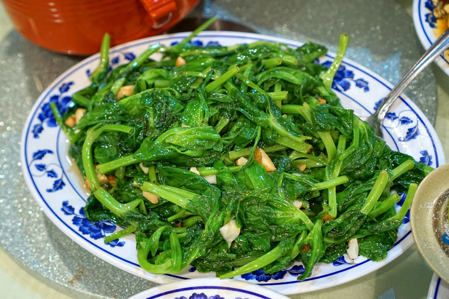 Sautéed Pea Sprout