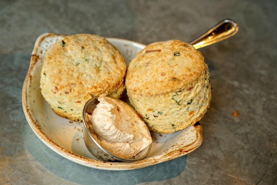 Kimchi-Cheddar Biscuits