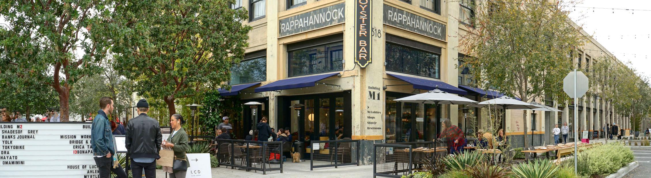 Rappahannock Oyster Bar Exterior