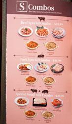 Saemaeul Menu: S Combos