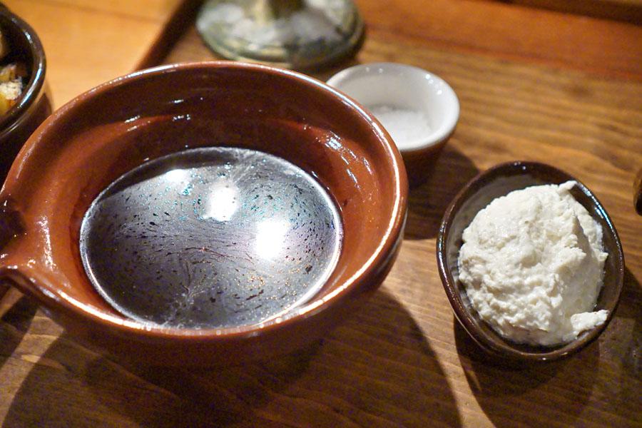 Beef Jus, Prepared Horseradish, Maldon Salt