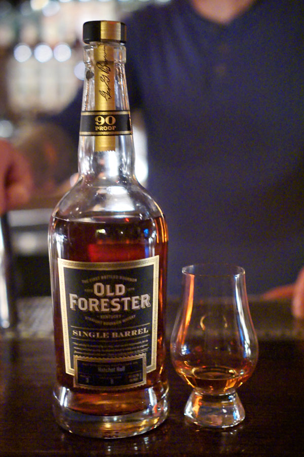 Old Forester Single Barrel: Hatchet Hall Bottling