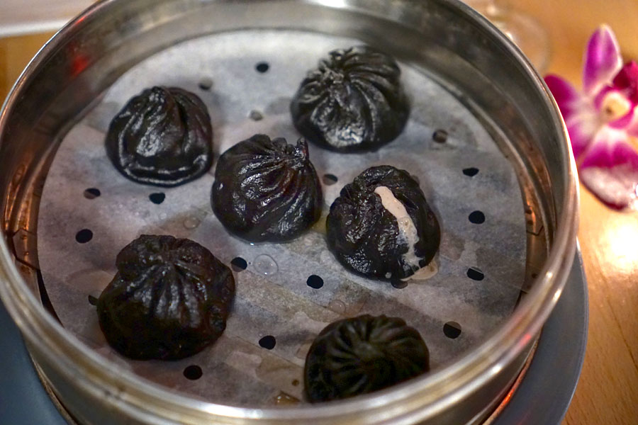 Squid Ink Xiao Long Bao