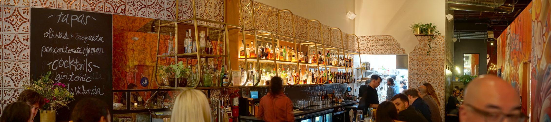 Otoño Bar Area