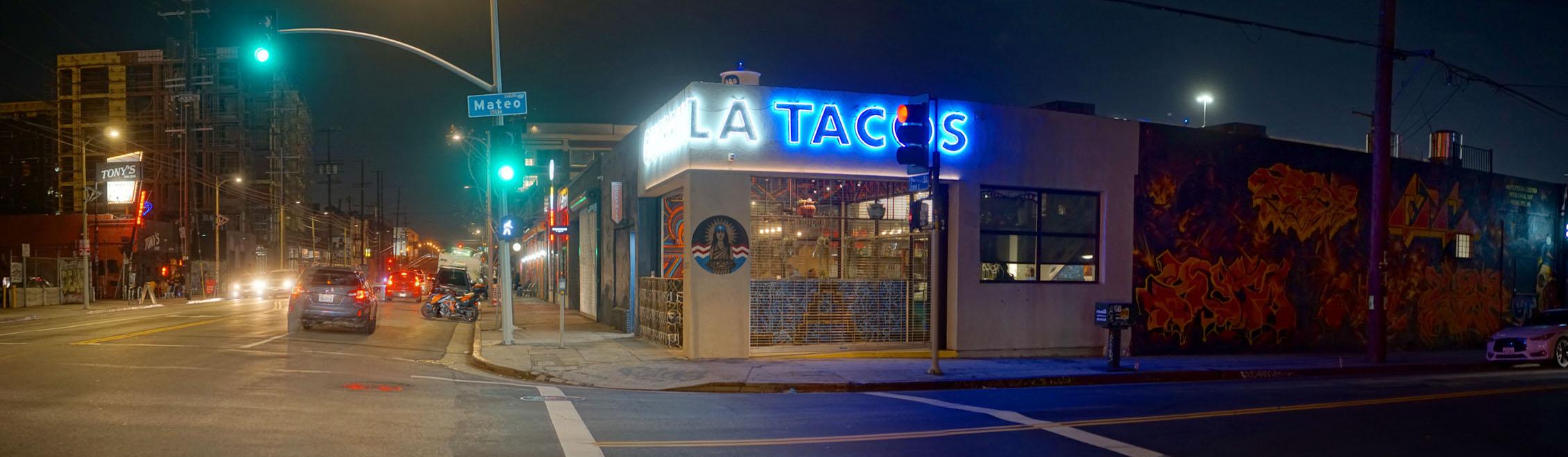 Guerrilla Tacos Exterior